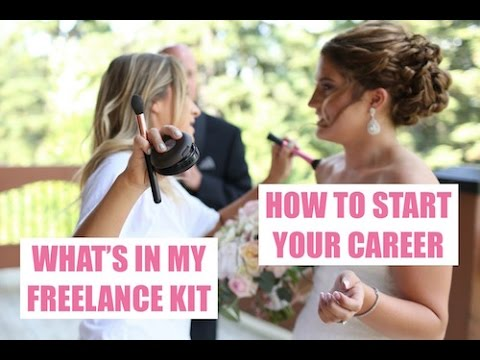 FREELANCE HAIR + MAKEUP KIT *PLUS* HOW I STARTED MY MAKEUP CAREER!