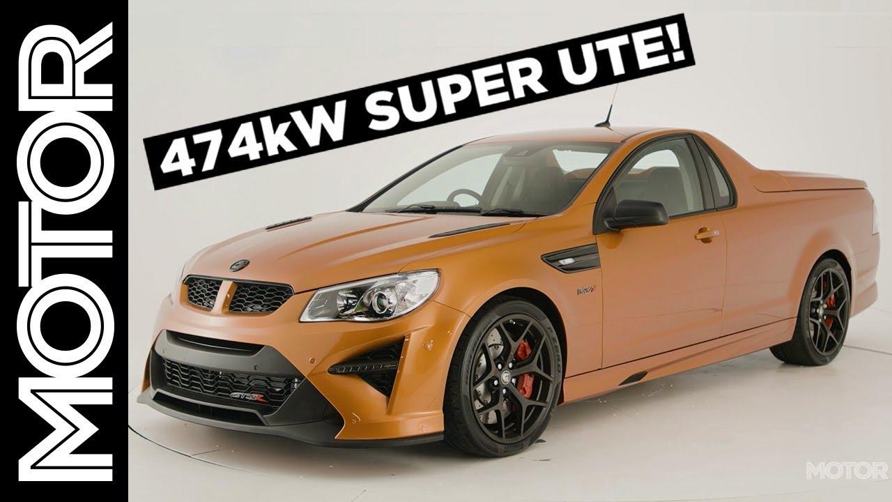 HSV GTSR Maloo W1 walkaround: the ultimate Aussie Muscle car? | MOTOR