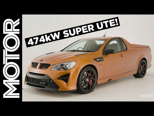 HSV GTSR Maloo W1 walkaround: the ultimate Aussie Muscle car