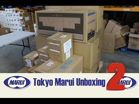 Massive Tokyo Marui Airsoft Unboxing Number Two.