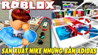 Roblox | KIA MANUFACTURING PLANT BUILT NIKE BUT SOLD ADIDAS-Nike Store Tycoon | Kia Breaking