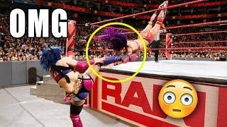 WWE Top 10 INSANE Stunts RECENTLY - WWE OMG Moments #2