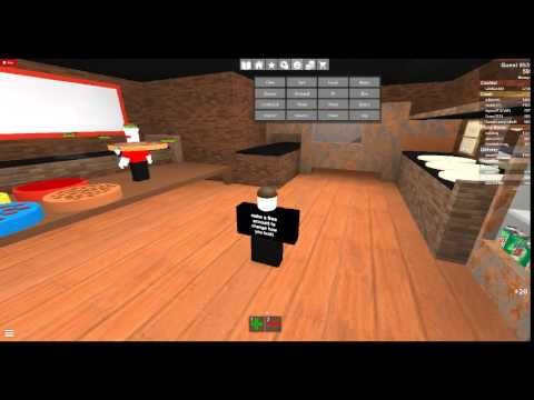 ROBLOX - Trolling as a Guest - Work at a Pizza Place - YouTube