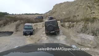 The New 2018 Mercedes G63 AMG / G500 Crazy Off-Road Test in a Rock Quarry !