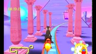 Looney Tunes Space Race Dreamcast Intro + Gameplay