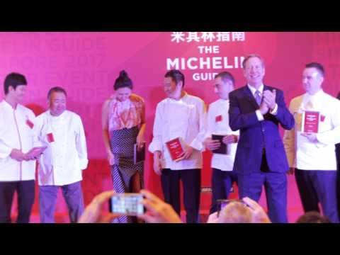 Highlights of the MICHELIN Guide Singapore 2017 Star Event