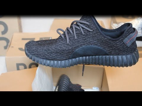 55c1075f7acd0 Unboxing Adidas Yeezy Boost 350 Pirate black