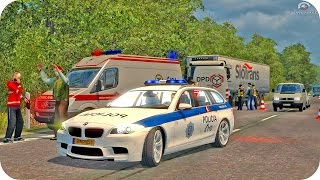 BMW Police Driving ETS2 (Euro Truck Simulator 2)