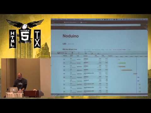 HTML 5.tx 2013 - Embedded Javascript, HTML5 And The Internet Of Things By Jesse Cravens