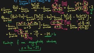 Asymptoty Funkcji - Pionowe, Poziome, Ukośne