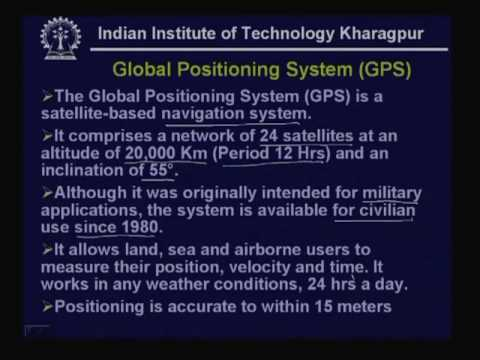 Lecture - 32 Satellite Communications