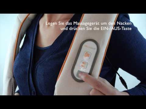 Medisana NM 860 Shiatsu Nacken-Massagegerät im Detail-Check