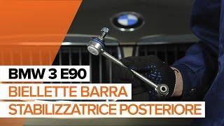 Montaggio Biellette Barra Stabilizzatrice posteriore e anteriore BMW 3 (E90): video gratuito