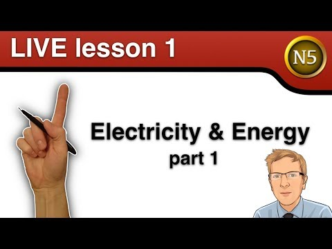 National 5 Physics Live: Electricity and energy part 1