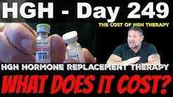 HGH Day 249 - What Does HGH Therapy Cost?