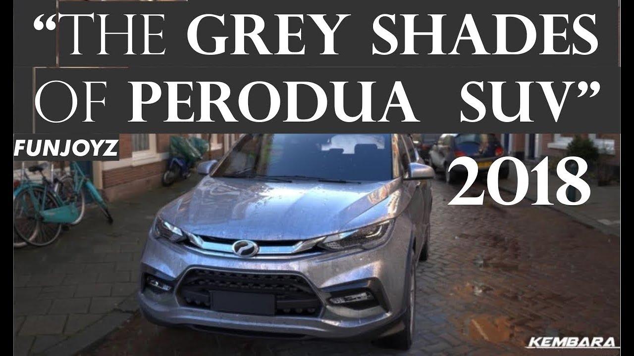 Perodua New Seater Suv 2018 Perodua Kembara 2018 Youtube