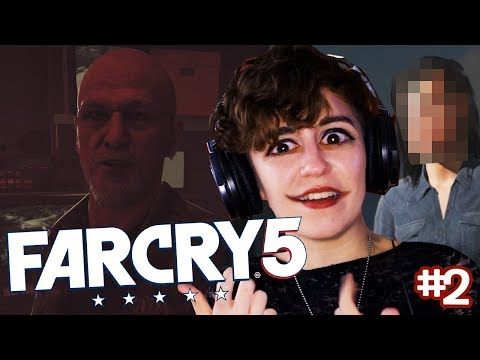 NEW JERSEY ACCENT IS STRONG HERE! Far Cry 5 (Part 2)