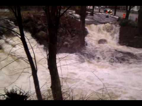 Flooding ,Canton Ma