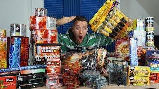 MEGA XXL Silvester Feuerwerk Unboxing 💣💥! - Online Einkaufstour xD | Johnny Hand