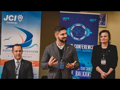 The Balkan Conference 2017 in Bucharest – New Business Culture in the Balkan, Day 1 Connect