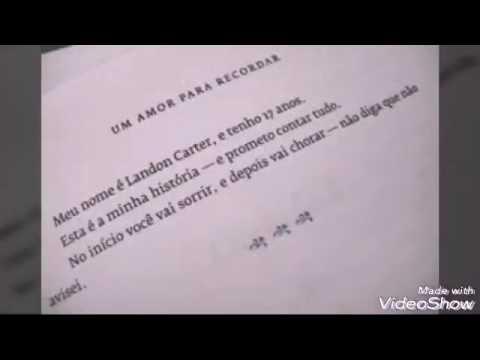 Frases De Livros Nicholas Sparks Youtube