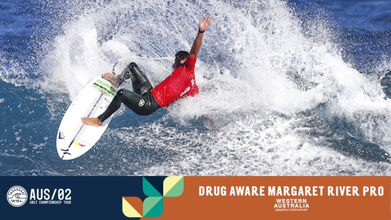 0cf11a2fc4 Day 5 Highlights - Drug Aware Margaret River Pro 2017. World Surf League
