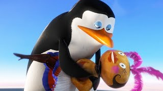 DreamWorks Madagascar | I Make My Own Options - Funny Scene | Penguins of Madagascar | Kids Movies