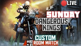 PUBG MOBILE ERANGEL CUSTOM ROOM MATCH 80 AND 81 | DK GAMING ESPORTS 02-02-2020