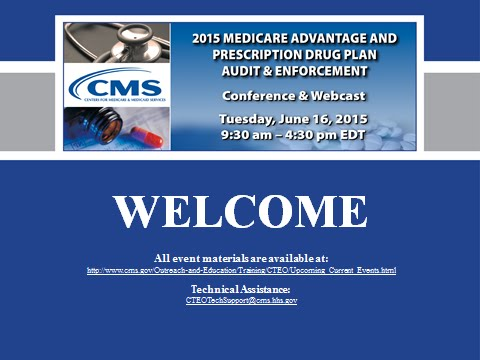 2015 Jun 16th, MA & PDP Audit & Enforcement Conference (Morning Session)