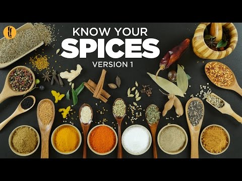 Know Your Spices - Most common spices used in Pakistani & Indian food. English & Urdu By Food Fusion