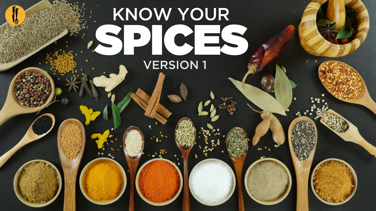Know your spices most common spices used in pakistani indian know your spices most common spices used in pakistani indian food english urdu by food fusion youtube forumfinder Choice Image