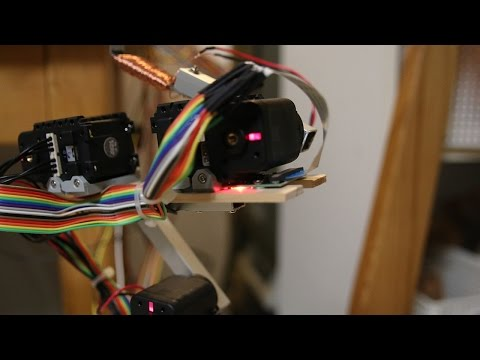 Raspberry Pi Robot Arm with Computer Vision