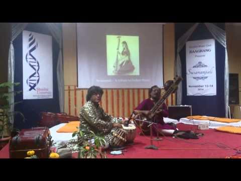 Rabindra Sangeet On Sitar- Swaranjali Music Fest At Shoolini University