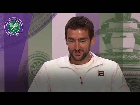 Marin Cilic Wimbledon 2017 semi-final press conference