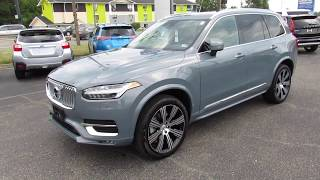 2020 Volvo XC90 Inscription T6 AWD Walkaround, Start up, Tour and Overivew