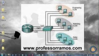 ⚫ Packet Tracer CISCO CCNA - Aula 5 - VLAN - www.professorramos.com