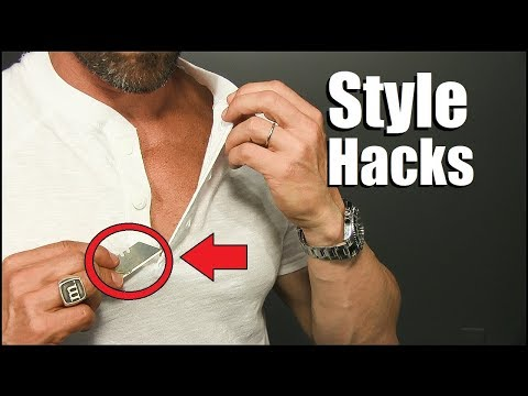 6 Simple Style Hacks EVERY Guy Should Try To Look BETTER!