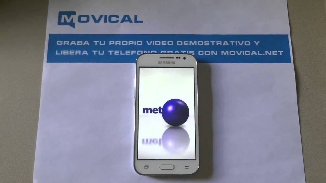 Desbloquear Samsung Galaxy Core Prime, SM-G360T de T-Mobile, Movical Net