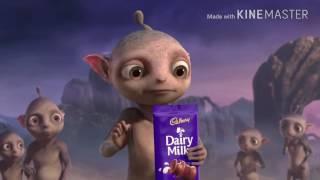 Cadbury Dairy Milk - Aliens - Canada (40 Secs) Funny AD