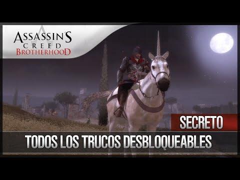 Assassin's Creed Brotherhood | Secretos | Todos los trucos Trucos Desbloqueables | Easter Egg