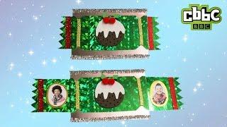 How to make a surprise Christmas cracker card - CBBC Blue Peter