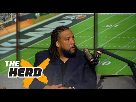 Donald Penn knew Derek Carr would be special long before this season | THE HERD (FULL INTERVIEW)