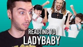 Watch as I react to a band known as LADYBABY! BECOME A BIGMAC - htt...