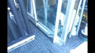 The Glass Racking Company Windscreen Rack And Folding Site Table 39 Secs.mp4