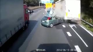 4 Most Horrific Accidents Caught on Camera | Be Careful While Driving 18+
