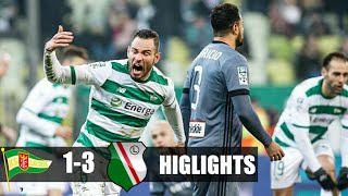 Lechia Gdansk vs Legia Warszawa Ft - (1-3) All Golls & Higlights 12/3/2018 •
