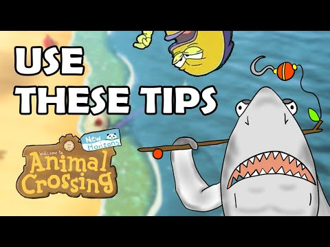 How To Catch ANY RARE FISH In Animal Crossing New Horizons [Master Fisher Guide + Master Baiting]