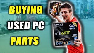 I got $144 Worth of USED PC Parts in Taiwan.... (May's USED PC Parts Hunt)
