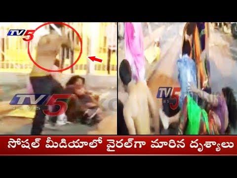 Viral Video: Rajasthan Group War | TV5 News