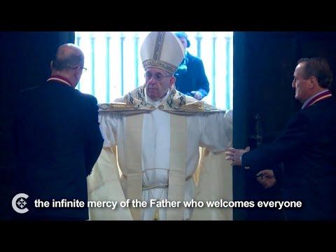 Pope opens Holy Door